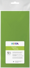Soft Tissue Paper Heyda 50 x 70 cm, pack of 5 Sheets - Light Green