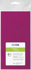 Soft Tissue Paper Heyda 50 x 70 cm, pack of 5 Sheets - Fuchsia