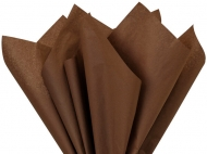 Soft Tissue Paper Heyda 50 x 70 cm, pack of 5 Sheets - Brown