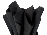 Soft Tissue Paper Heyda 50 x 70 cm, pack of 5 Sheets - Black