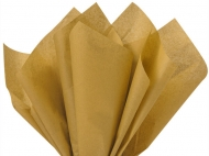 Soft Tissue Paper Heyda 50 x 70 cm, pack of 5 Sheets - Gold