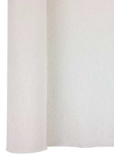 White Crepe Paper Roll 50 x 250 cm Heyda