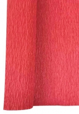 Light Red Crepe Paper Roll 50 x 250 cm Heyda