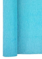 Water Blue Crepe Paper Roll 50 x 250 cm Heyda