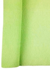 May Green Crepe Paper Roll 50 x 250 cm Heyda