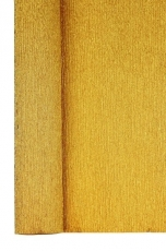 Gold Crepe Paper Roll 50 x 250 cm Heyda