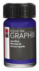 Водоразтворим Туш Marabu Graphix Aqua 15 ml - Виолет Тъмен