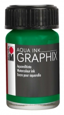 Водоразтворим Туш Marabu Graphix Aqua 15 ml - Мента