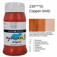 Daler-Rowney System 3 Acrylic - Copper