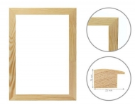 Wooden Frame Rosa (16x25 mm) to Frame 40x60 cm