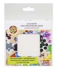 KPC glue dots permanent 3 mm 728 pcs