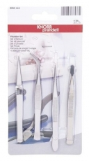 Tweezers set 4 part