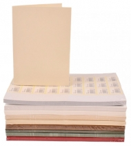 pack of 25 Kraft Paper 300 gsm Card Blanks