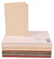 pack of 25 Kraft Paper 240 gsm Card Blanks