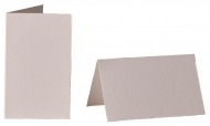 pack of 25 Small Card Blanks/Table Place Cards - White Watercolour Paper