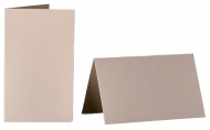 pack of 25 Small Card Blanks/Table Place Cards - Cream