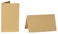 pack of 25 Small Card Blanks/Table Place Cards - Vanilla