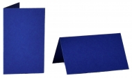 pack of 25 Small Card Blanks/Table Place Cards - Royal Blue