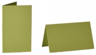 pack of 25 Small Card Blanks/Table Place Cards - May Green