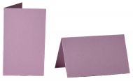 pack of 25 Small Card Blanks/Table Place Cards - Light Violet