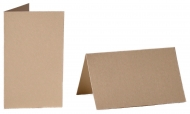 pack of 25 Small Card Blanks/Table Place Cards - Pearlescent Fog