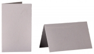 pack of 25 Small Card Blanks/Table Place Cards - Pearlescent White