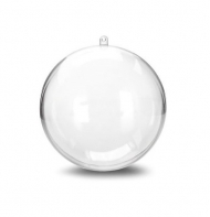 Fillable Clear Acrylic Ball 80 mm