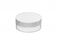 Clear Acrylic Round Mini Box