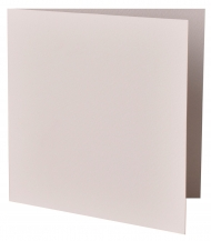 pack of 25 Watercolour Paper Square Card Blanks