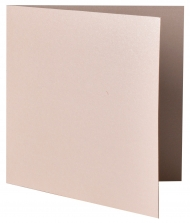 pack of 25 Square Pearlescent Card Blanks Capiz