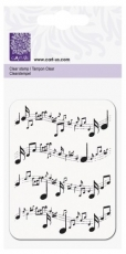 Печат Силиконов KNORR PRANDELL 65*90 Mm Musical Notes