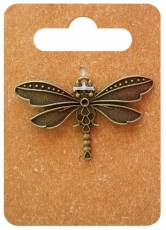 Be pretty charm 7171 dragonfly brown 1 pc