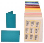 pack of 25 Small Card Blanks/Table Place Cards - Mango