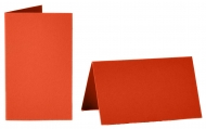 pack of 25 Small Card Blanks/Table Place Cards - Light Red