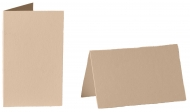 pack of 25 Small Card Blanks/Table Place Cards - Flesh