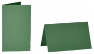 pack of 25 Small Card Blanks/Table Place Cards - Dark Green