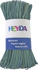 Natural Raffia bundle with 50 g - Pastel Blue