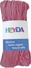 Natural Raffia bundle with 50 g - Pink