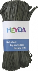 Coloured Raffia Hank with 50 g - Black