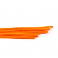 Orange Pipe Cleaners Knorr-Prandell Ø8 mm, 50 cm - 10 pcs pack