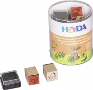 Heyda stamp 15+1 pc 84-Spring