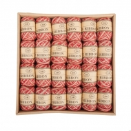 Jute Ribbon 5 mm, 5 m Red