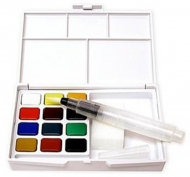 Sakura Koi Watercolour Pocket Field Sketch Box 12 Assorted Colours