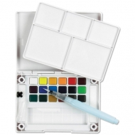 Sakura Koi Watercolour Pocket Field Sketch Box 18 Assorted Colours