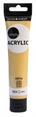 Gold Acrylic Paint Daler Rowney Simply