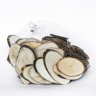 Wood Oval Slices : from 5 to 9 cm