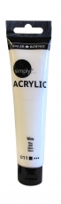 Daler Rowney Simply Acrylic 75 ml - White