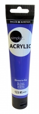 Blue Ultramarine Daler Rowney Simply Acrylic 75 ml