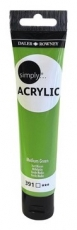 Daler Rowney Simply Acrylic 75 ml - Medium Green