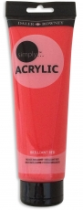 Daler Rowney Simply Acrylic 75 ml - Brilliant Red